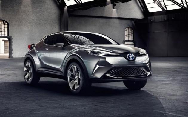 2015 Toyota C-HR concept-front