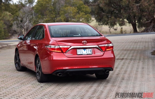 2015 Toyota Camry SX-rear