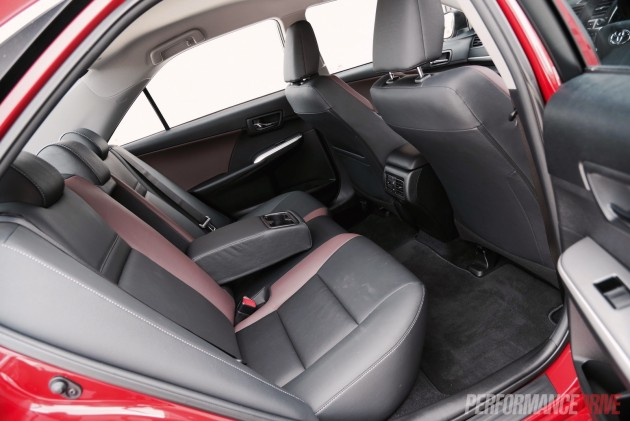 2015 Toyota Camry SX-rear seats