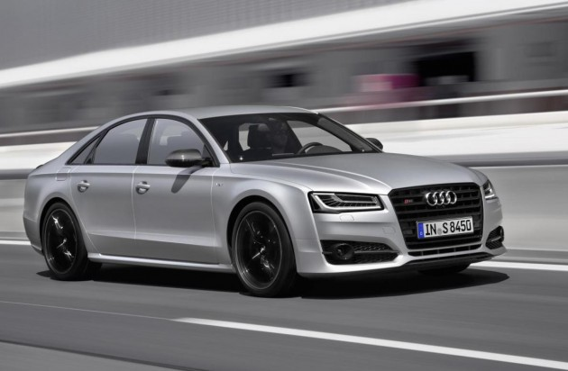2016 Audi S8 Plus-driving