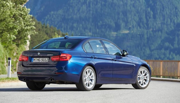 2016 BMW 3 Series-rear