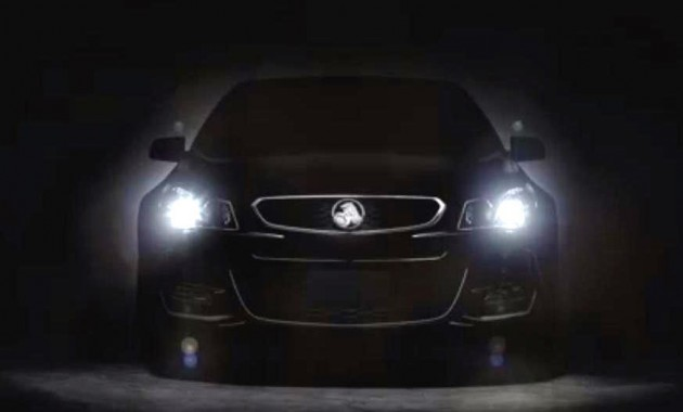 2016 Holden Commodore VF II-teaser