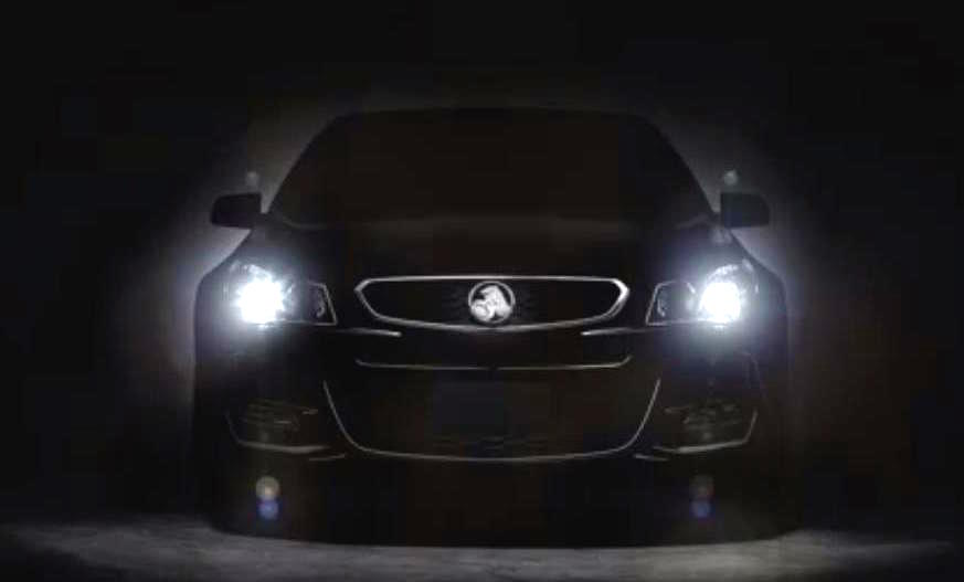 Simple 2016 Holden Commodore VF II Previewed For First Time