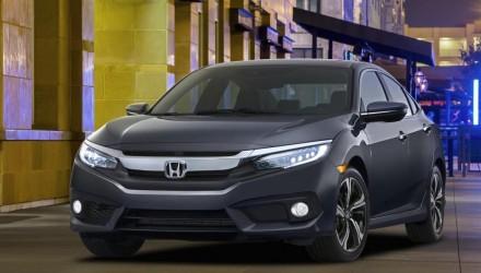2016 Honda Civic sedan unveiled, gets 1.5L turbo