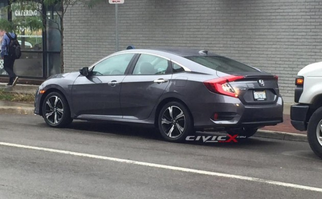2016 Honda Civic sedan-rear