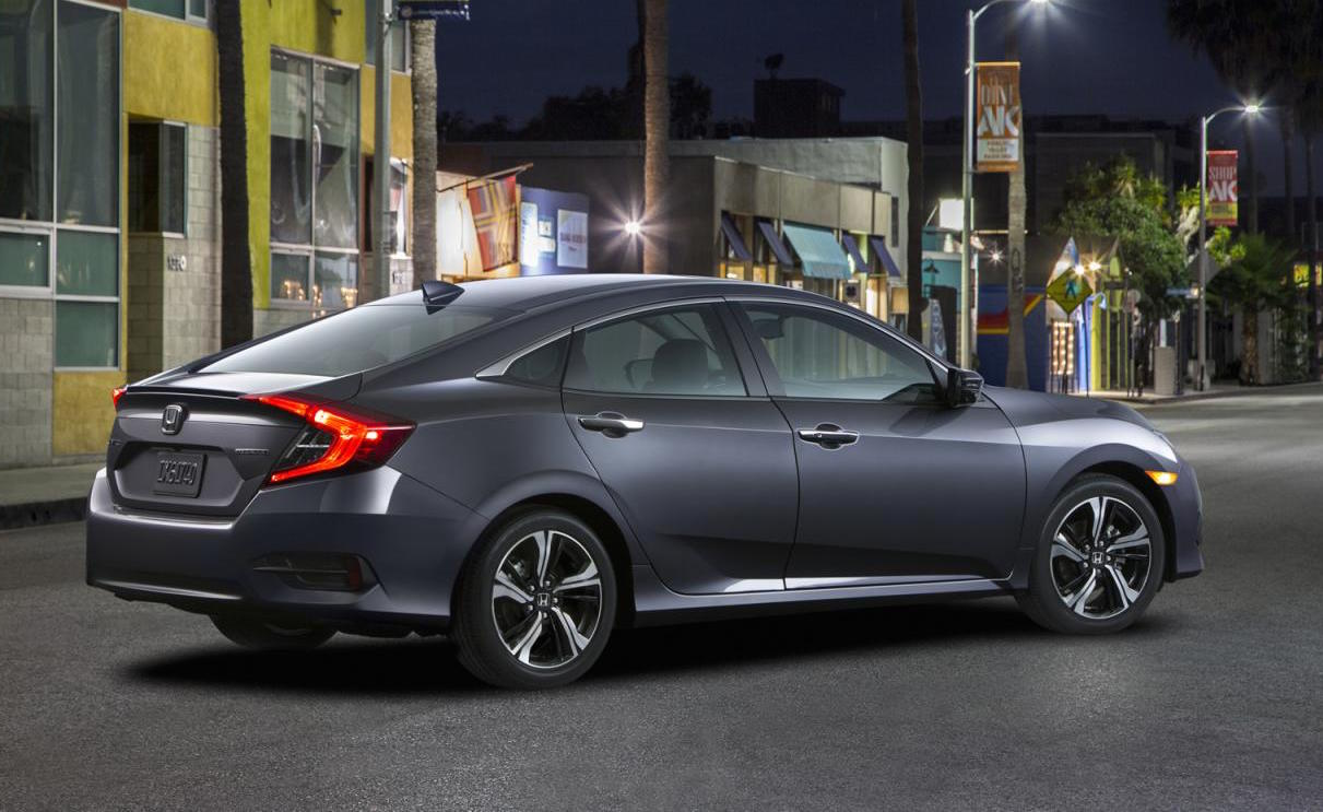 2016 honda civic sedan unveiled gets 1 5l turbo performancedrive. Black Bedroom Furniture Sets. Home Design Ideas