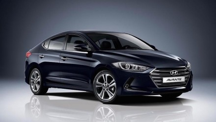 2016 Hyundai Elantra revealed in Korean 'Avante' form