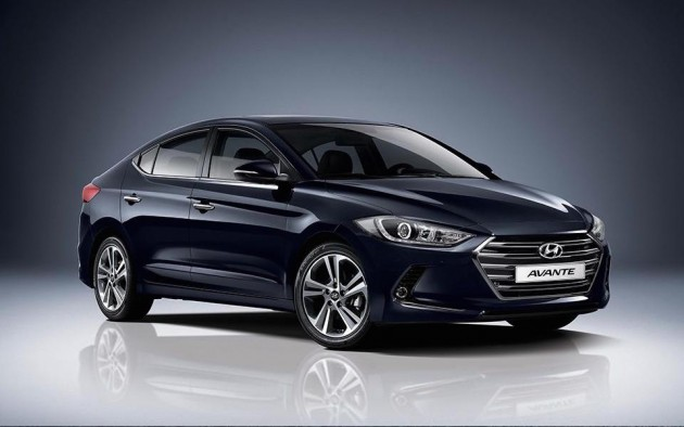 2016 Hyundai Elantra-South Korea