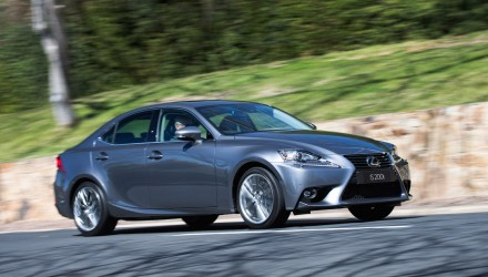 Lexus IS 200t now on sale in Australia from $57,500