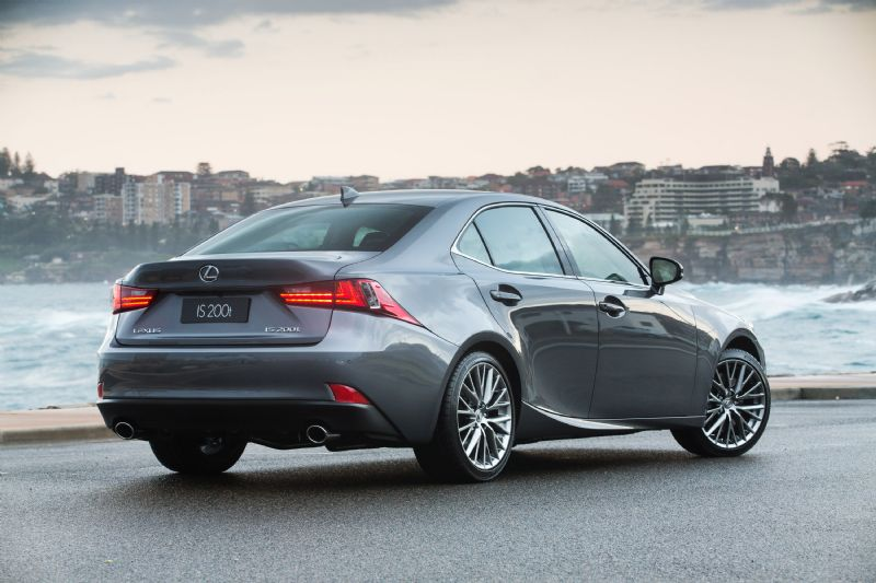 lexus is 200t now on sale in australia from 57500