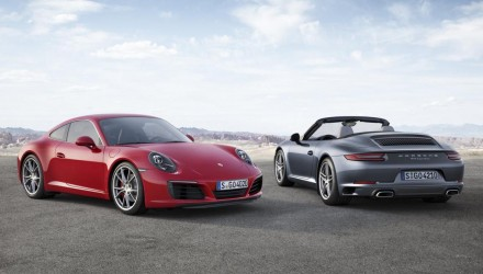 2016 Porsche 911 '991.2' revealed, gets new 3.0L bi-turbo engine