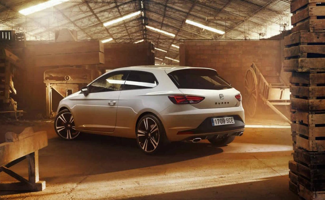 2016 seat leon cupra 39 290 39 update revealed gets power. Black Bedroom Furniture Sets. Home Design Ideas