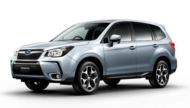 2016 Subaru Forester XT facelift