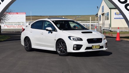 2016 Subaru WRX STI review – track test (video)
