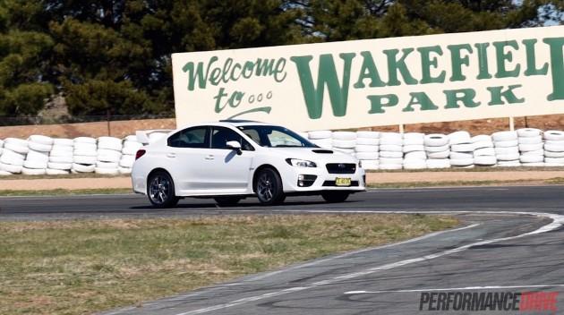 2016 Subaru WRX STI-Wakefield Park
