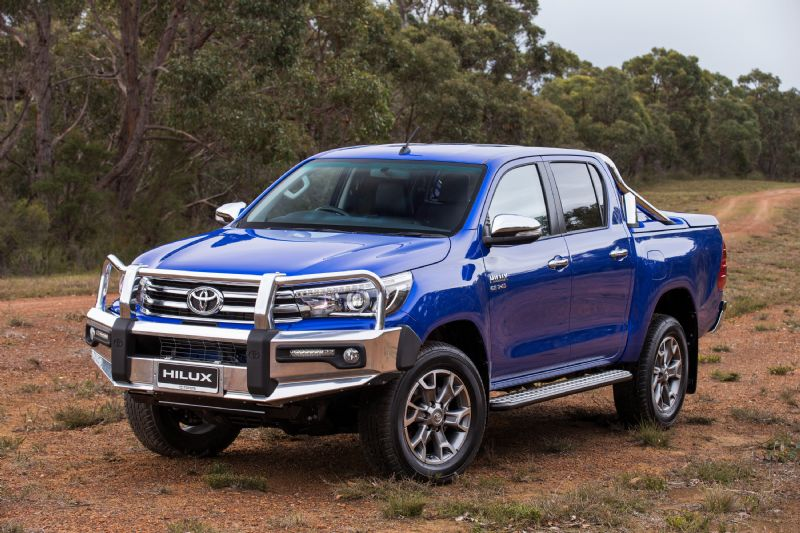 2016 toyota hilux accessories revealed developed in australia performancedrive. Black Bedroom Furniture Sets. Home Design Ideas