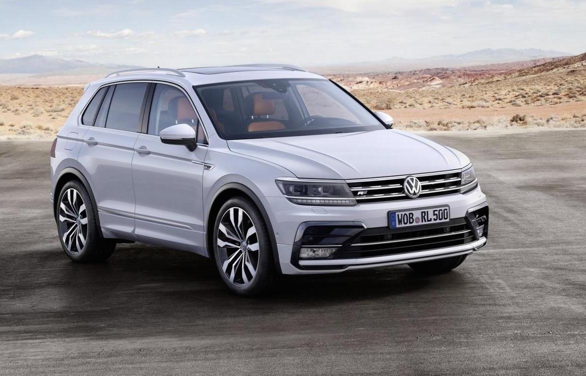 2016 Volkswagen Tiguan unveiled 176kW TDI flagship confirmed