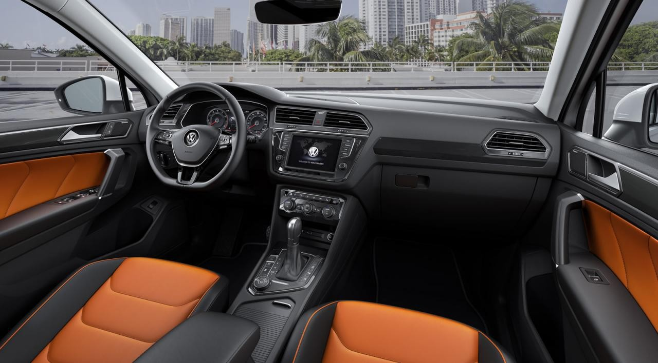 2016 volkswagen tiguan unveiled 176kw tdi flagship for Interieur 2015
