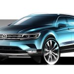 2016 Volkswagen Tiguan previewed with official sketches