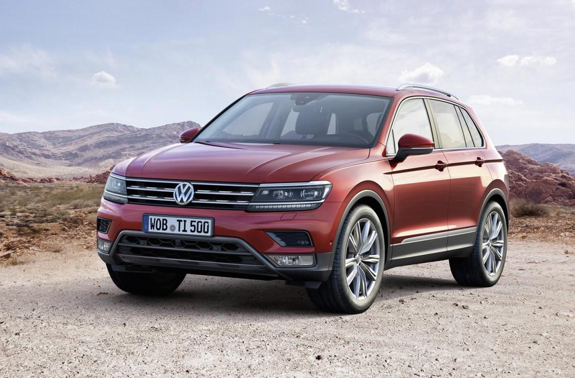 2016 volkswagen tiguan unveiled 176kw tdi flagship. Black Bedroom Furniture Sets. Home Design Ideas