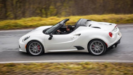 Alfa Romeo 4C Spider on sale in Australia from $99,000