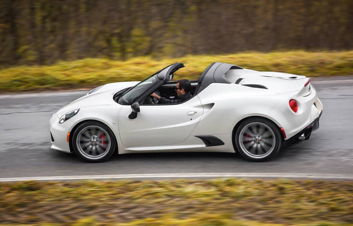 alfa romeo 4c spider on sale in australia from 99 000 performancedrive. Black Bedroom Furniture Sets. Home Design Ideas