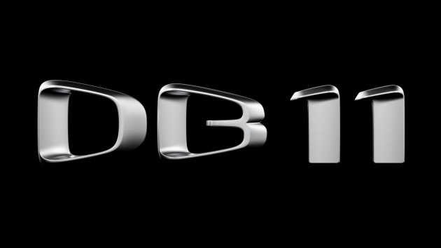 Aston Martin DB11 badge