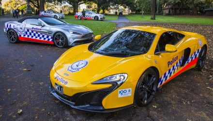 McLaren 650S & Aston Martin Vanquish join NSW Police Force