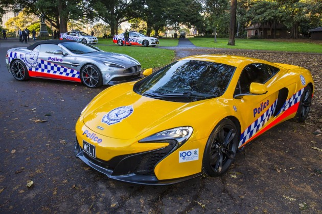 Aston Martin and McLaren-NSW Police