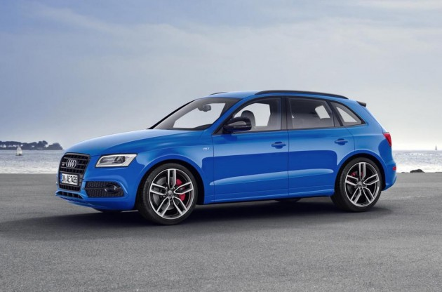 Audi SQ5 plus-front