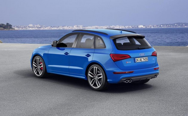 Audi SQ5 plus-rear