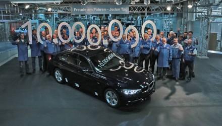 BMW 3 Series passes 10 million production milestone