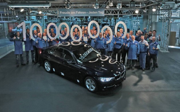 BMW 3 Series 10 million production