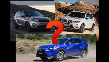 Editorial: What SUV did we buy – Land Rover, Lexus NX, BMW X3?