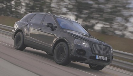 Bentley Bentayga is world's fastest SUV; 301km/h (video)