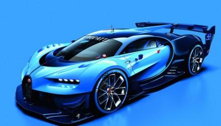 Spectacular Bugatti Vision Gran Turismo concept revealed