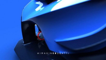Bugatti Vision Gran Turismo concept previewed some more