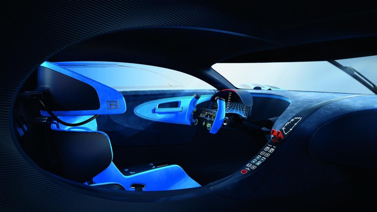 Spectacular Bugatti Vision Gran Turismo concept revealed ...