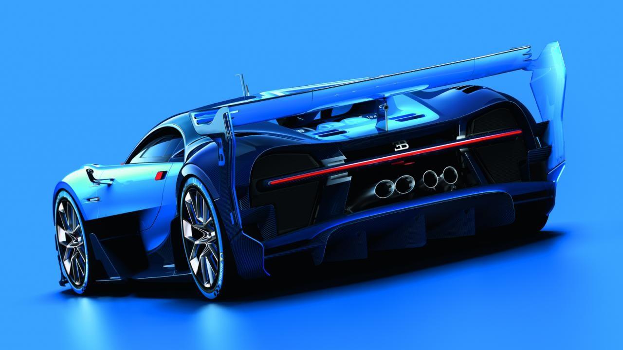 spectacular bugatti vision gran turismo concept revealed performancedrive. Black Bedroom Furniture Sets. Home Design Ideas
