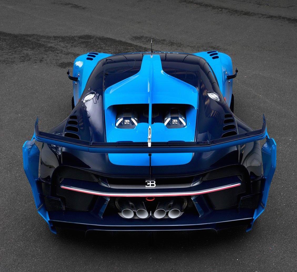 Bugatti Gran Turismo: Real-life Bugatti Vision Gran Turismo Looks Insane