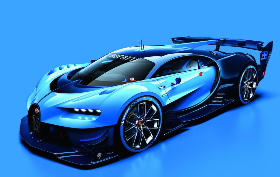 spectacular bugatti vision gran turismo concept revealed performancedrive. Black Bedroom Furniture Sets. Home Design Ideas
