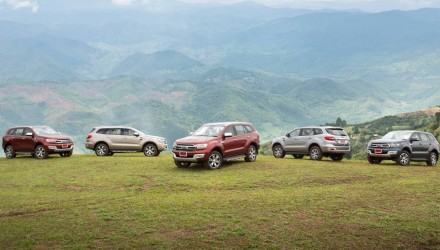 Ford Everest gathers interest, on sale very soon