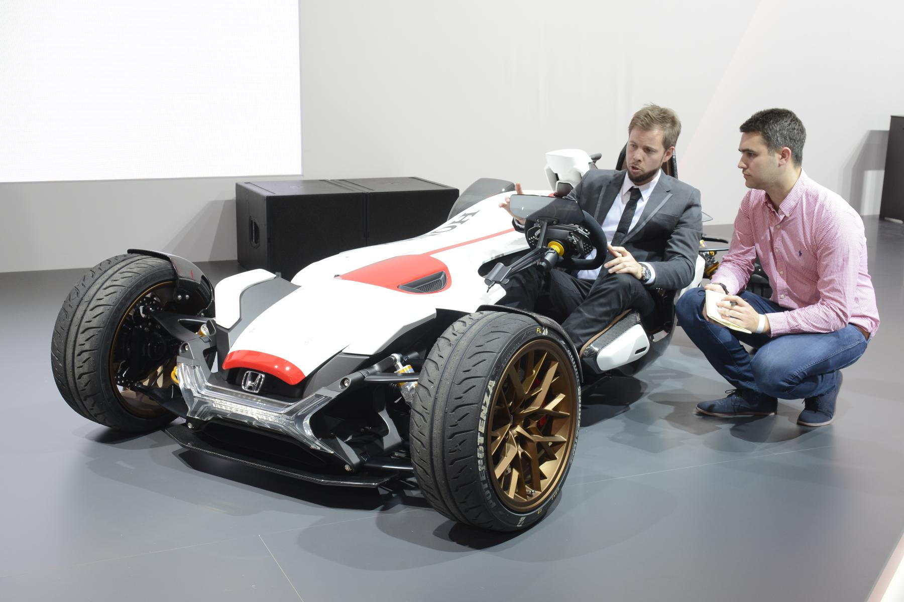 honda 2 4 concept revealed possible ktm x bow rival performancedrive. Black Bedroom Furniture Sets. Home Design Ideas