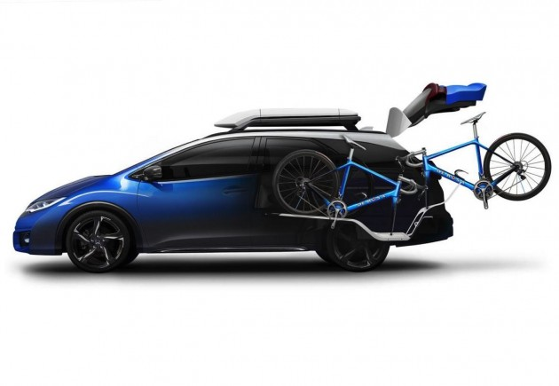 Honda Civic Tourer Active Life concept-cycling