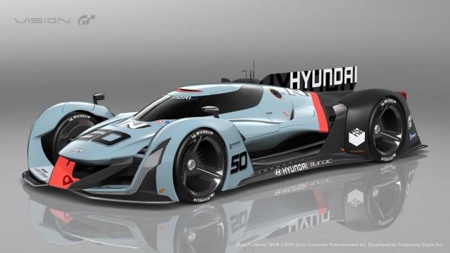 Hyundai N Vision Gran Turismo concept