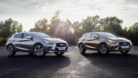 Infiniti Q30 premium hatch revealed, on sale in Australia Q2 2016