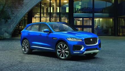 Jaguar F-PACE officially unveiled, 280kW V6 for top model