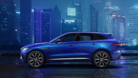 Jaguar F-Pace body shown in most revealing teaser yet (video)
