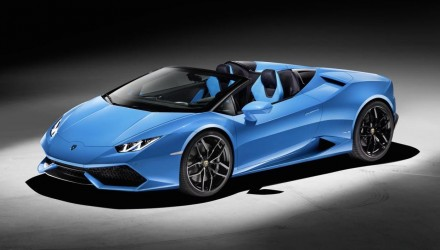 Lamborghini Huracan Spyder revealed, on sale in Australia from $470,800