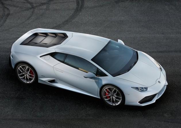 Lamborghini Huracan-top